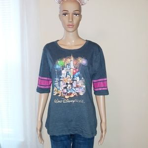 Walt Disney World Magic Kingdom Mickey S/S Shirt